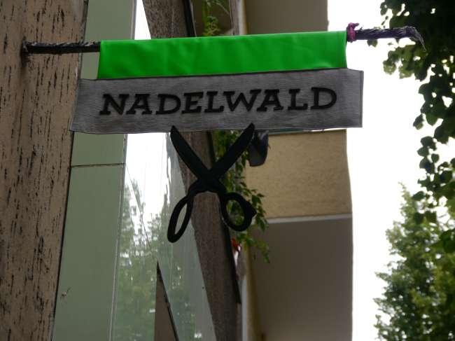 Unsre Location: Der schöne Nadelwald in Neukölln