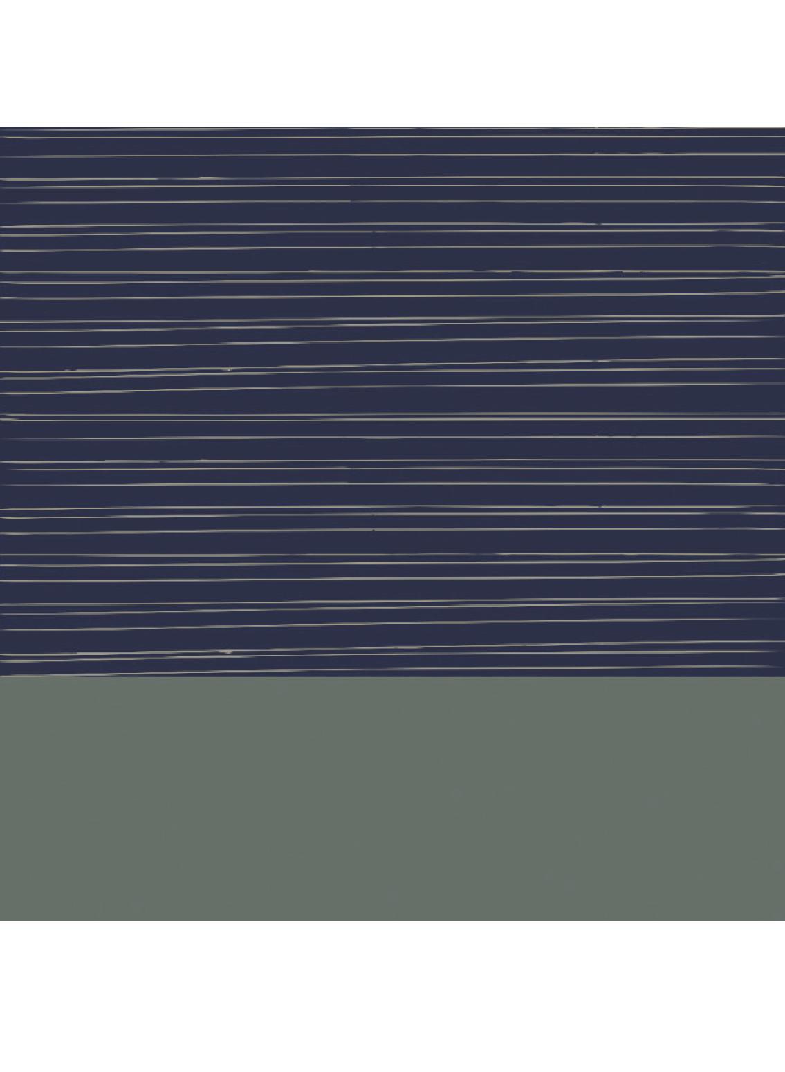 Zartes Herrentuch in dunklem Blau und Grün mit feinen Streifen aus Biobaumwolle