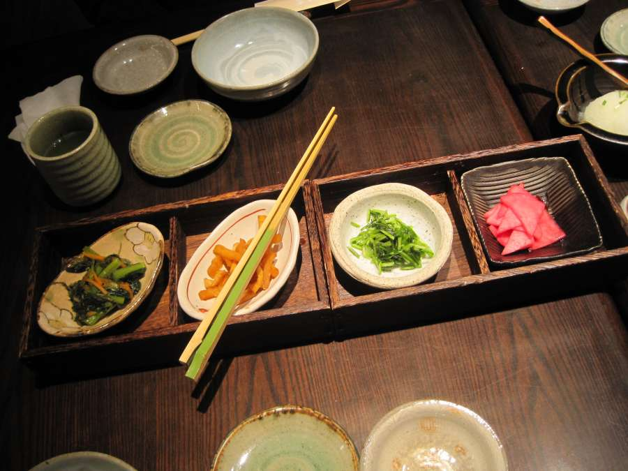 Japanische Kulinarik - Mixed Pickles