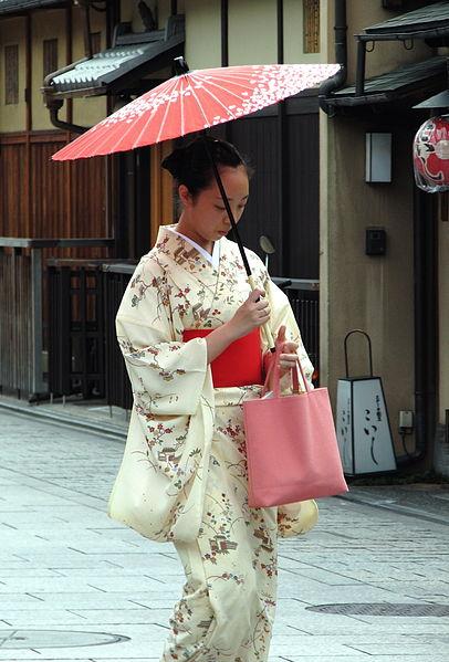 Kimono Traditionelle Japanische Mode