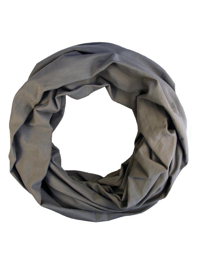 Loop aus Biojersey in Grau für Damen und Herren