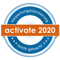 Activate Reclay Lizenz Verpackungen 2020