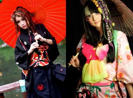 Wamono japanische Jugendkultur Bekleidung