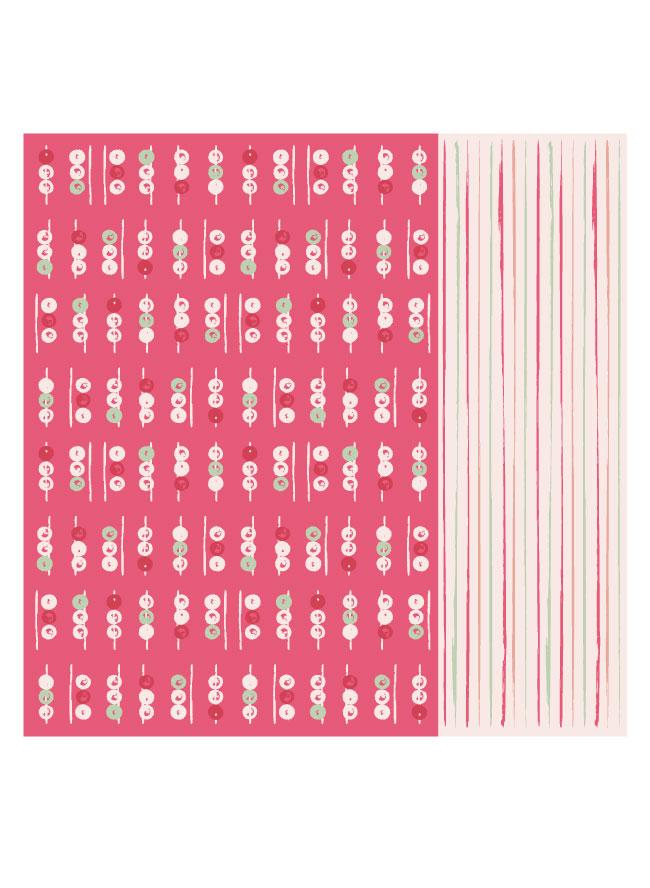 Tuch Mochi in Beere Pink für Damen