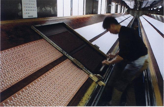 Herstellung Tenugui