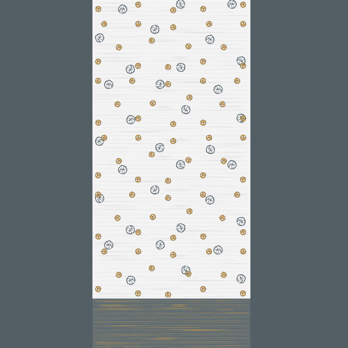 Kissen mit Print Pasta Pomodoro in 40 x 40 und 50 x 50 Biobaumwolle digital bedruckt