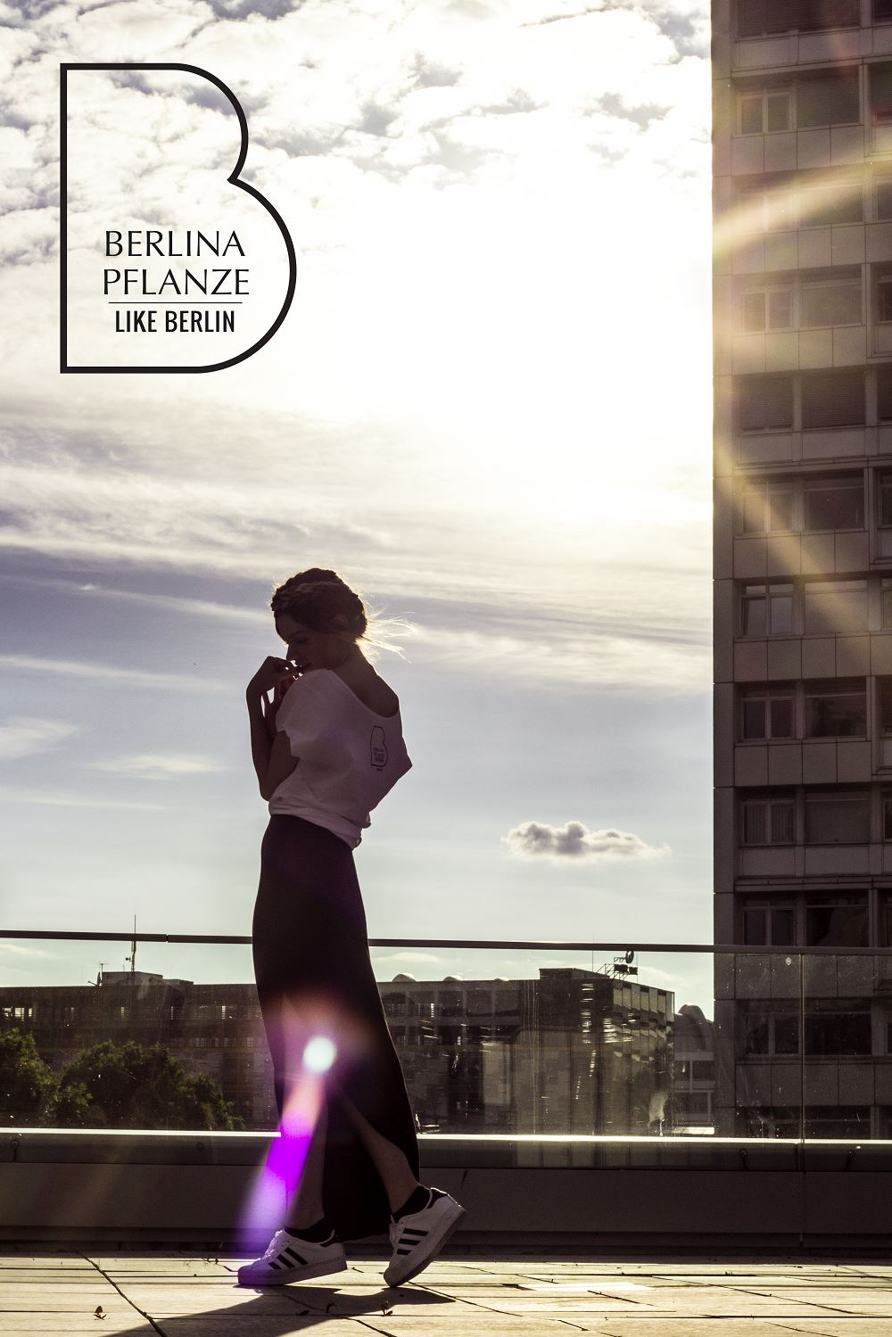BERLINA PFLANZE und LIKE.BERLIN B-Shirt Kampagne Crowdfunding