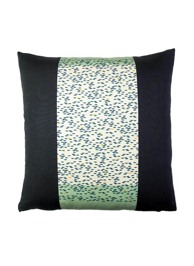 Kissen 40x40 Biobaumwolle mit Reis Print